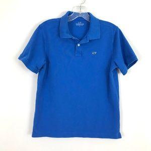 Vineyard Vines boys polo shirt L 18 youth cotton